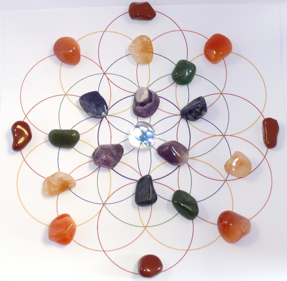 Personalized Crystal Grids Custom Crystal Grid Sacred