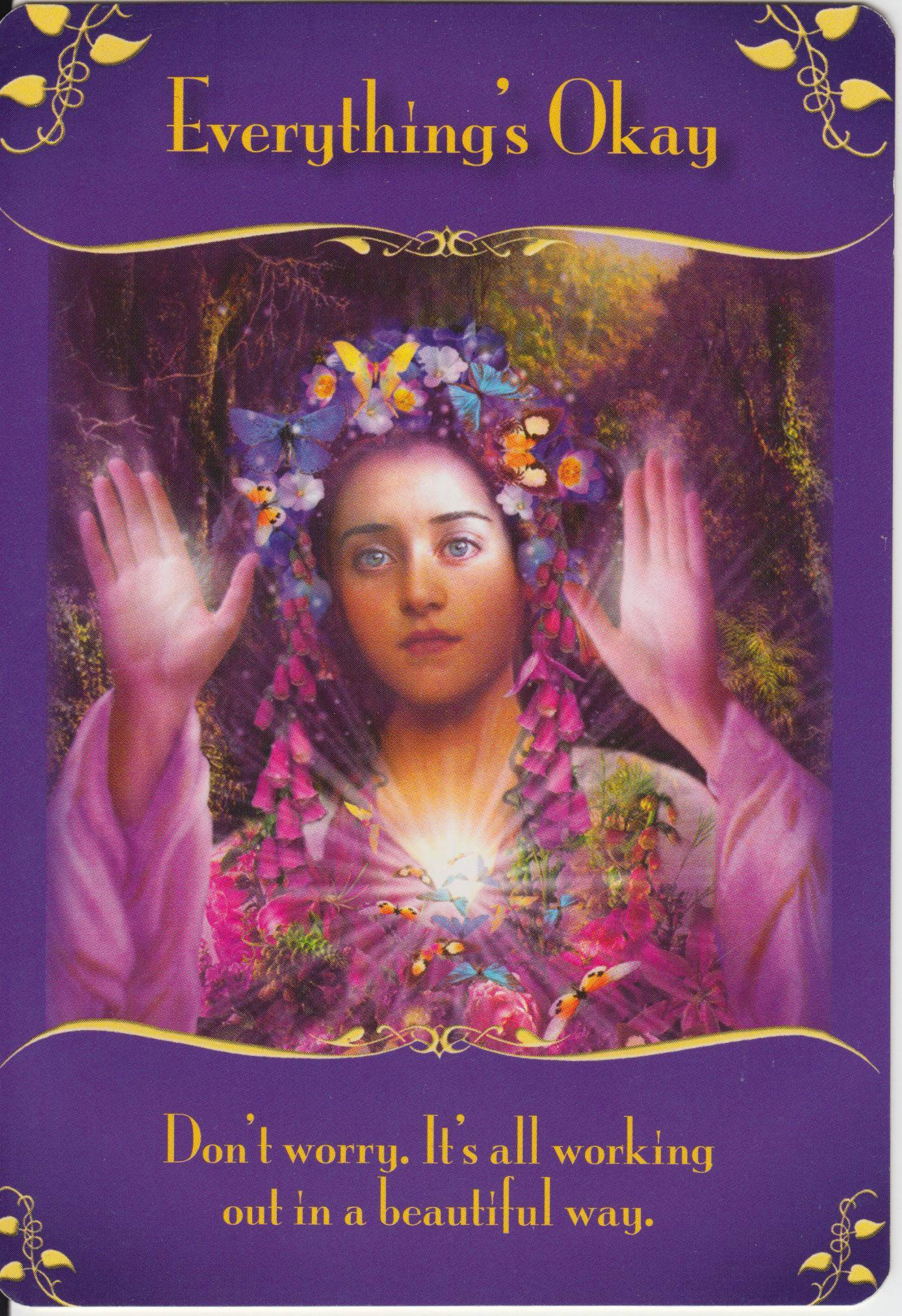 doreen virtue angel card reading